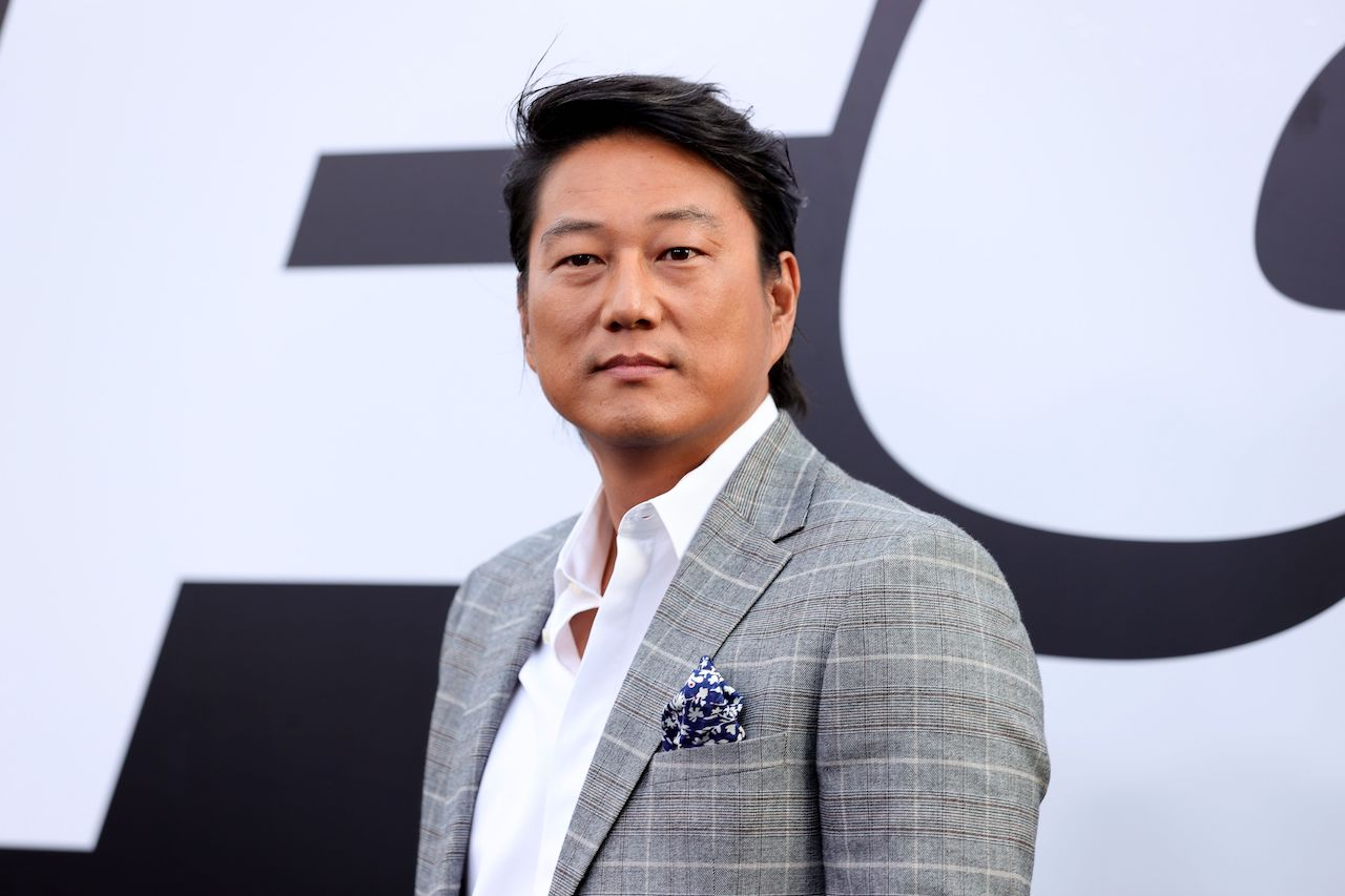 """Sung Kang attends the Universal Pictures """"F9"""" World Premiere at TCL Chinese Theatre"""