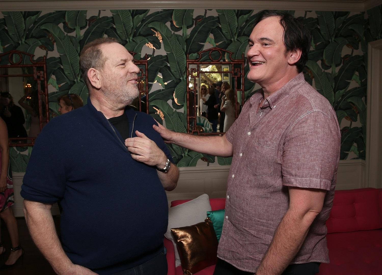 Harvey Weinstein and Quentin Tarantino in 2016