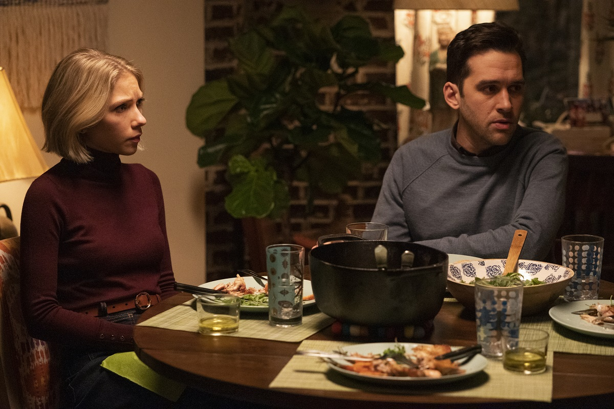 (L-R): Kate Keller (Tavi Gevinson) and Jordan Glassberg (Adam Chanler-Berat) in 'Gossip Girl' Episode 3