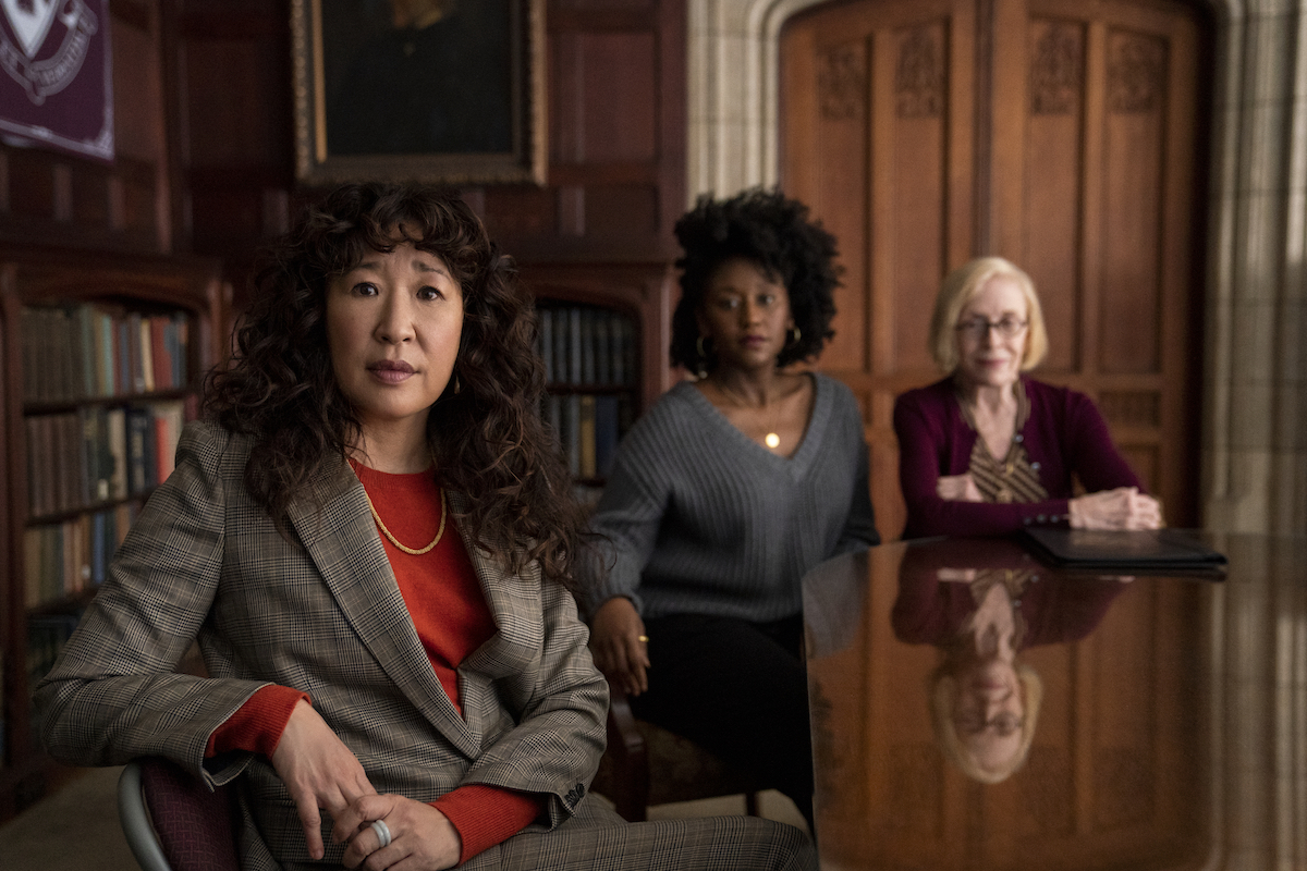 The Chair starring Sandra Oh