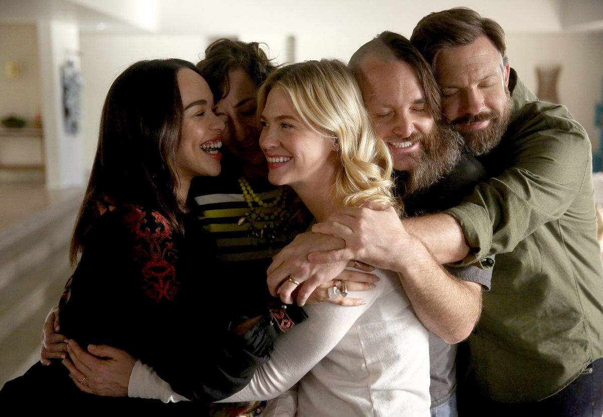 (L-R): Cleopatra Coleman, Kristen Schaal, January Jones, Will Forte, and Jason Sudeikis in 'The Last Man on Earth'