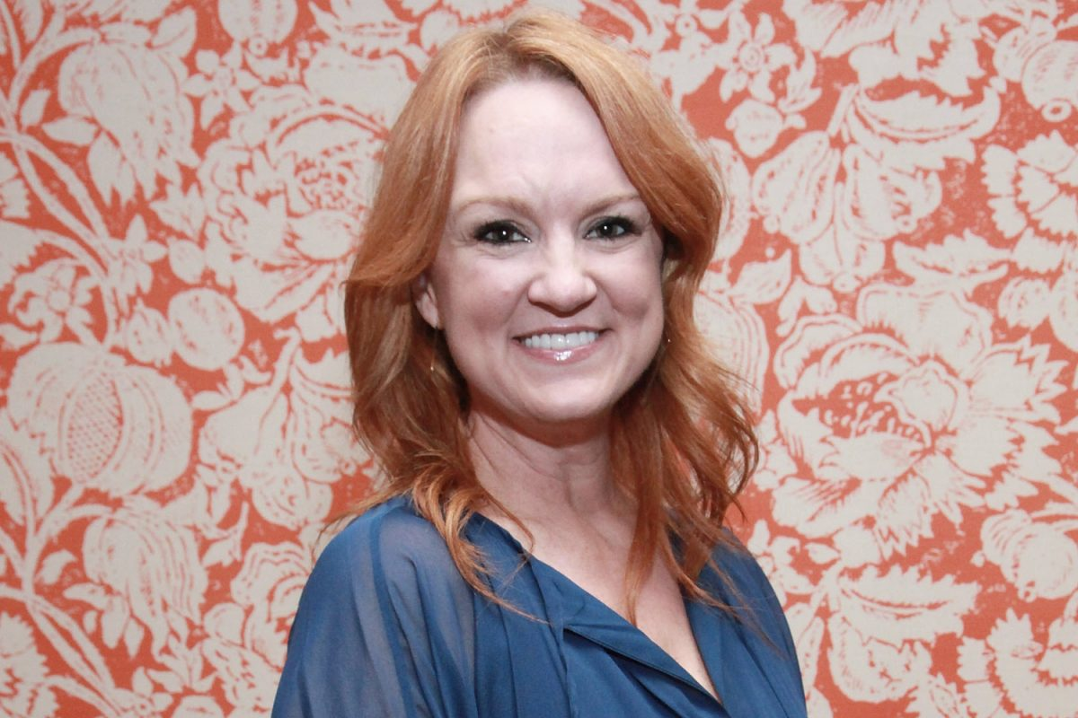 Ree Drummond smiles during an HGTV event in 2012