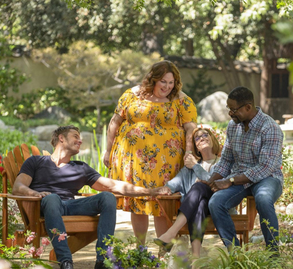 'This is Us' Season 5 featuring Kate, Kevin, Randall, and Rebecca Pearson