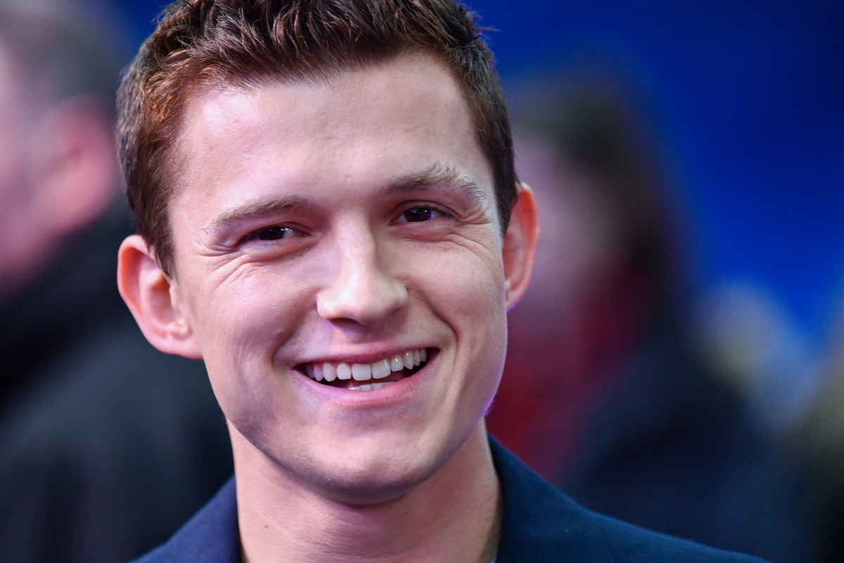 Tom Holland attends the UK Premiere Of Disney and Pixar's 'Onward' on February 23, 2020, in London, England.
