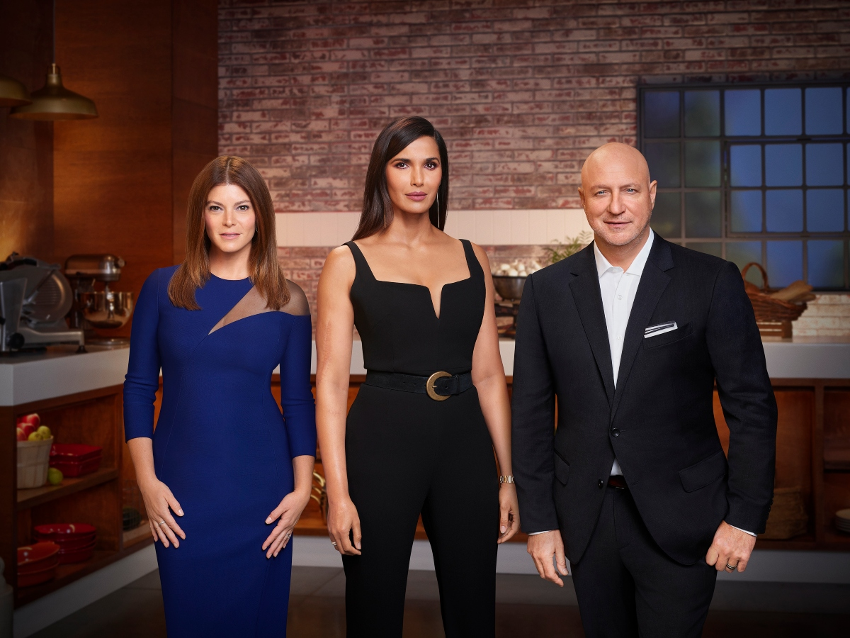 'Top Chef' Season 18 photo with Gail Simmons, Padma Lakshmi, Tom Colicchio