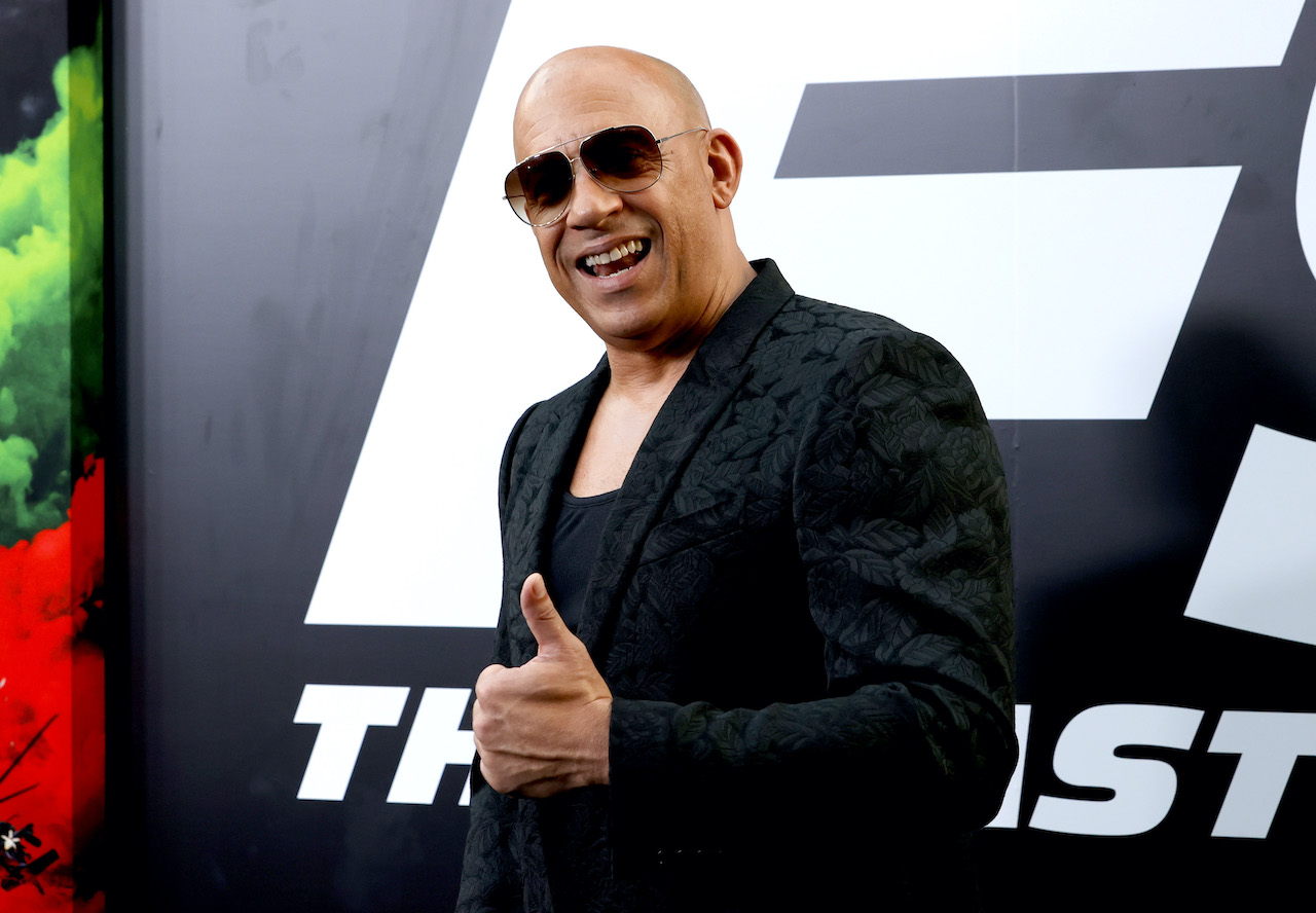 """Vin Diesel attends Universal Pictures """"F9"""" World Premiere at TCL Chinese Theatre"""
