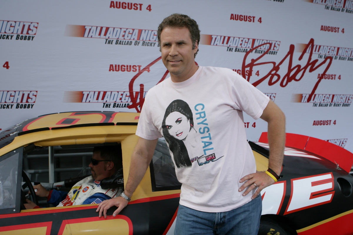 Will Ferrell at the premiere for 'Talladega Nights: The Ballad of Ricky Bobby' in Los Angeles, California