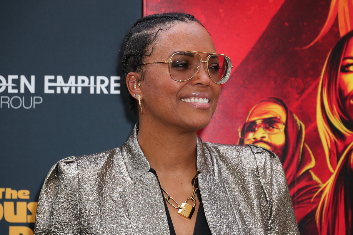 """Aisha Tyler at the premiere of """"The House Next Door: Meet the Blacks 2"""""""