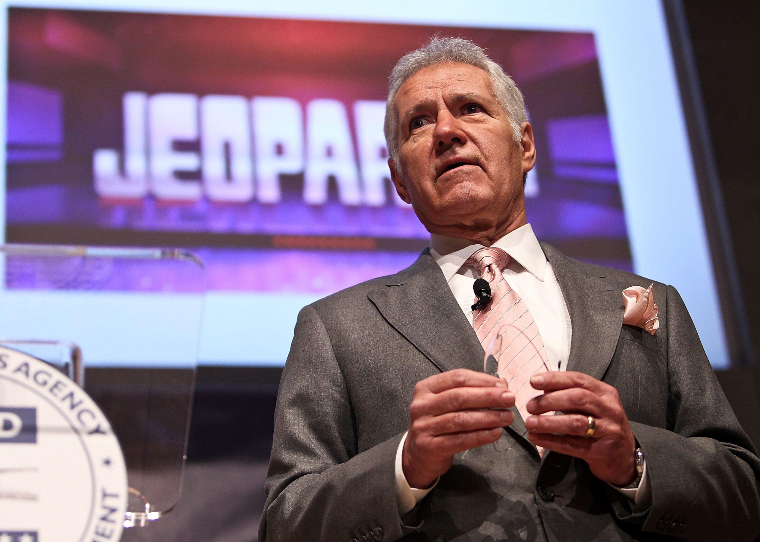The late 'Jeopardy!' host Alex Trebek