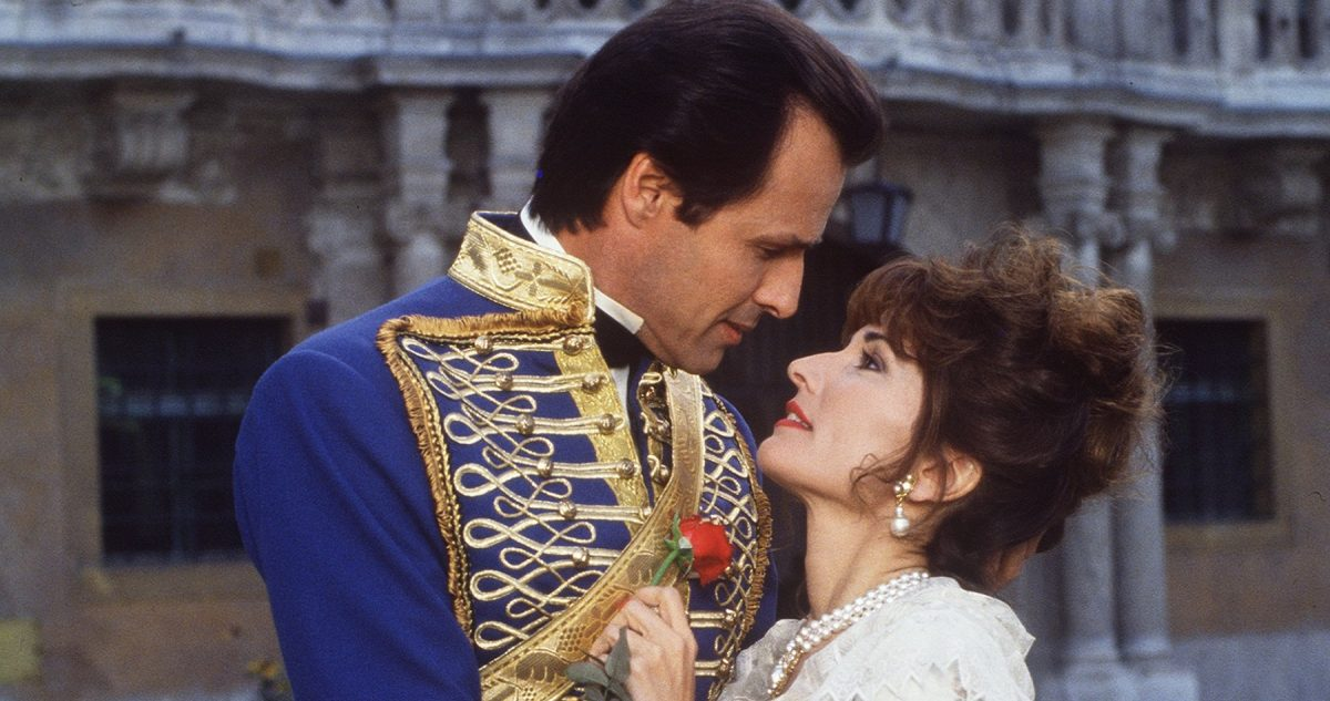 All My Children starred Michael Nader, pictured on the left, and Susan Lucci, pictured on the right