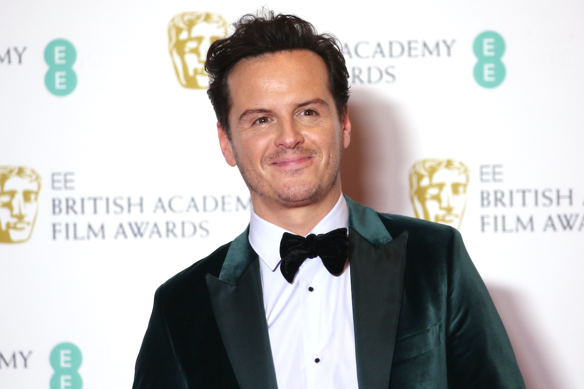 Andrew Scott poses in the Winners Room during the EE British Academy Film Awards