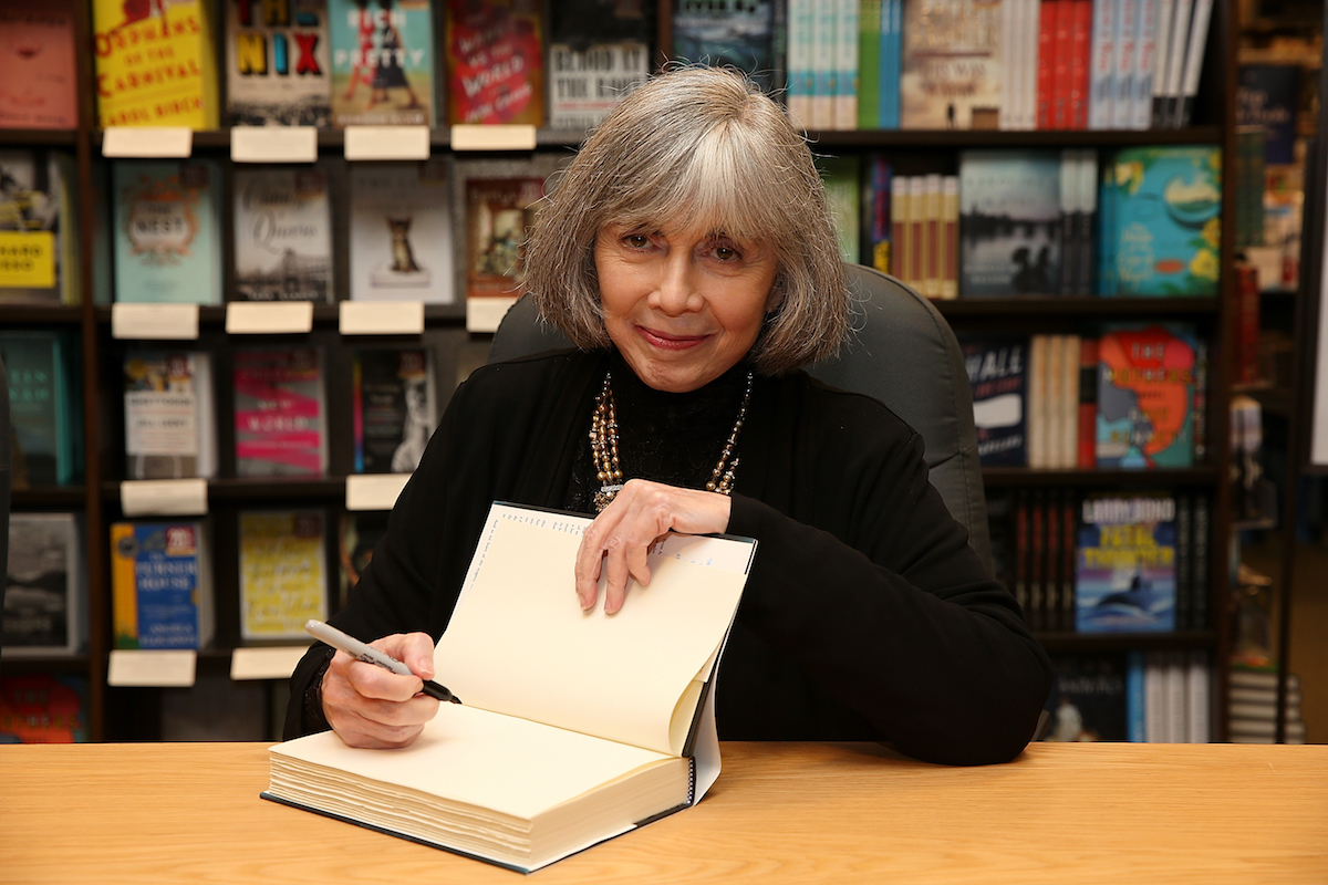 Anne Rice at a book signing event