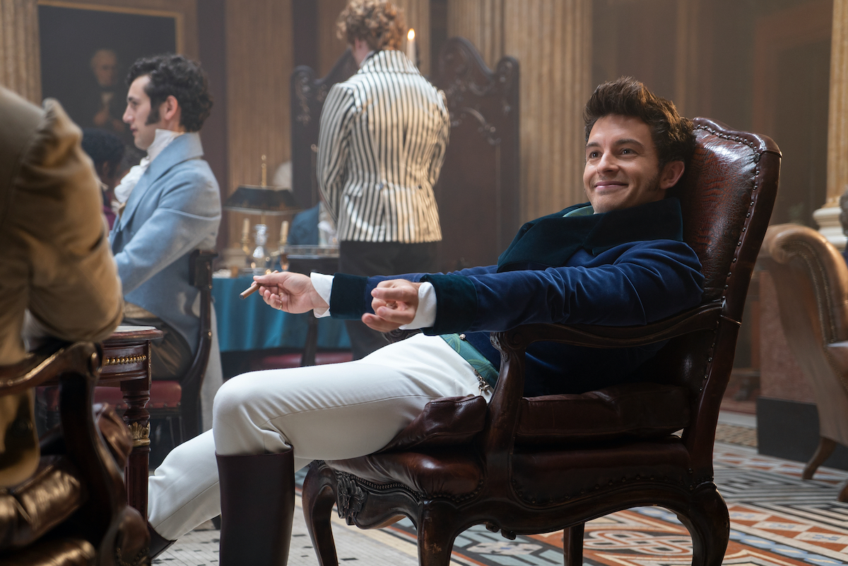 Jonathan Bailey as Anthony Bridgerton Season 1 on Netflix