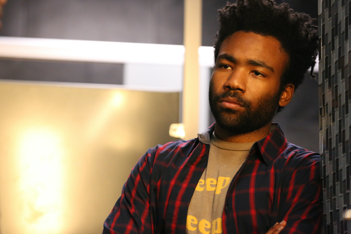 Donald Glover dressed as his character Earnest Marks from the FX show 'Atlanta'