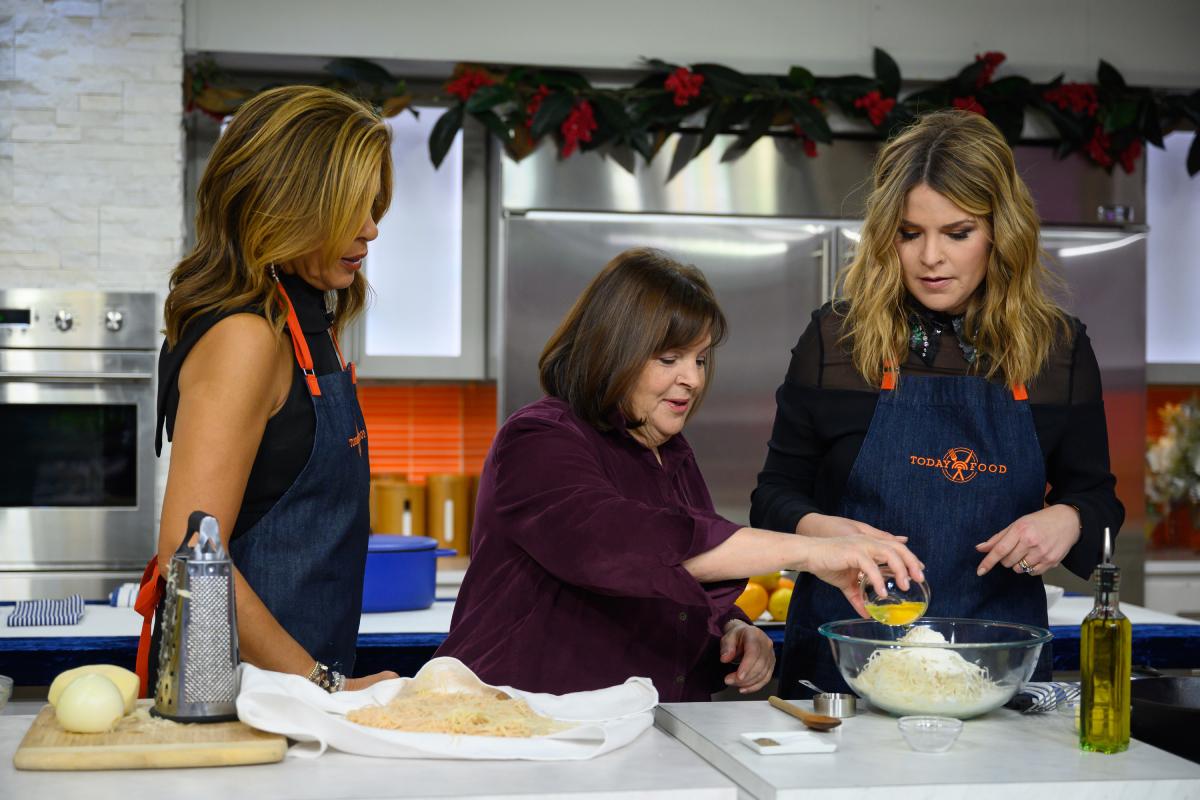 Hoda Kotb, Ina Garten and Jenna Bush Hager on Thursday, December 19, 2019