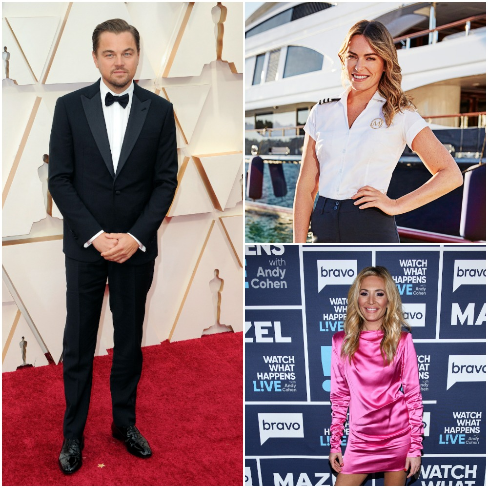 Leonardo DiCaprio was a guest on Katie Flood from Below Deck Mediterranean and Kate Chastain from Below Deck yacht