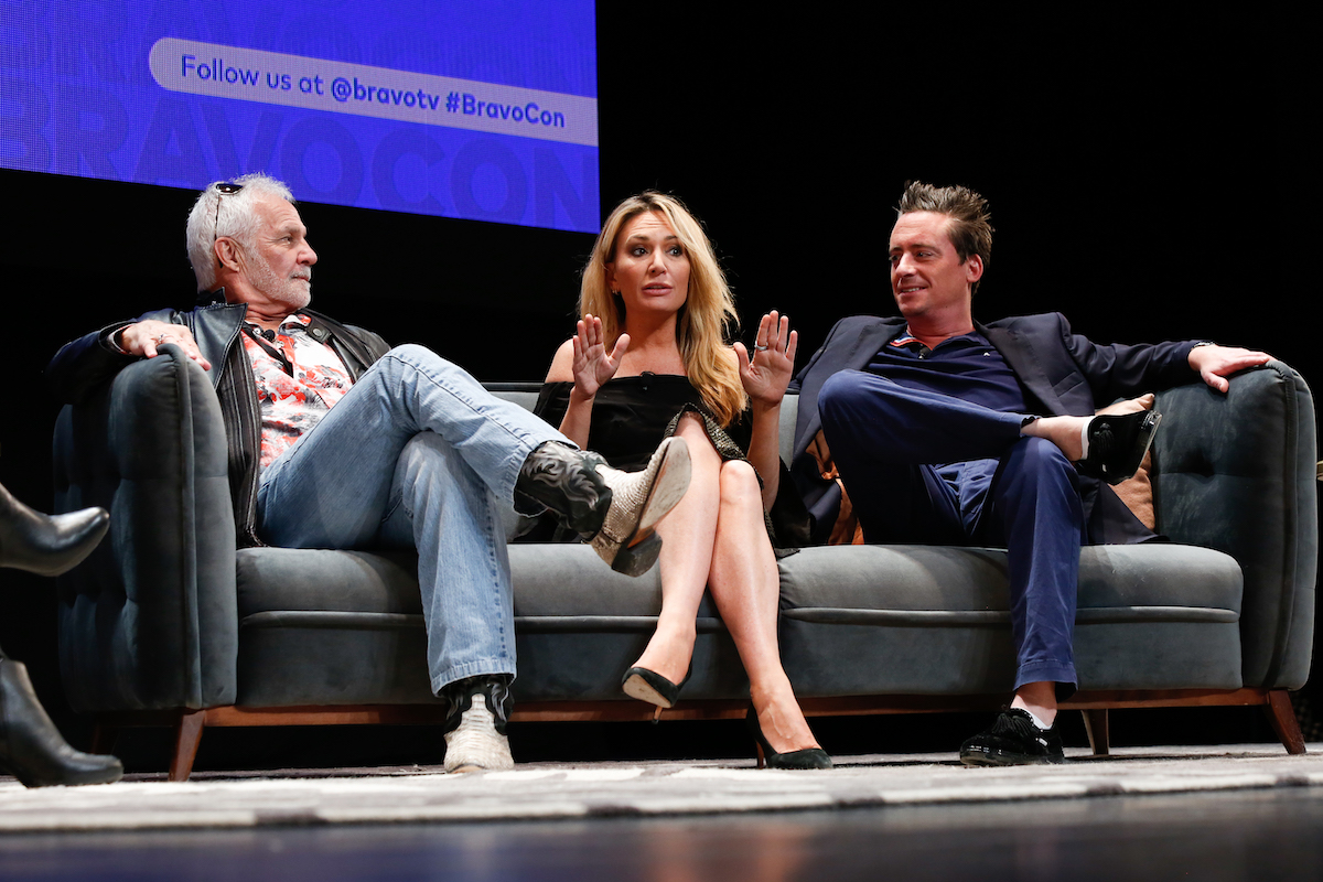 Captain Lee Rosbach, Kate Chastain, chef Ben Robinson from Below Deck discuss the series at BravoCon