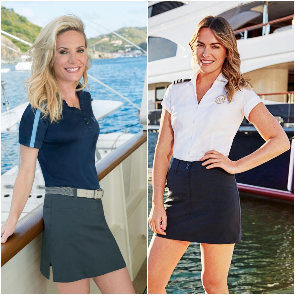Kate Chastain from Below Deck and Katie Flood from Below Deck Mediterranean