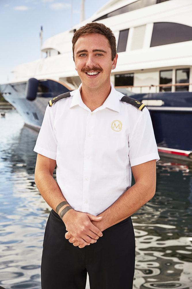 Lloyd Spencer from Below Deck Mediterranean cast photo