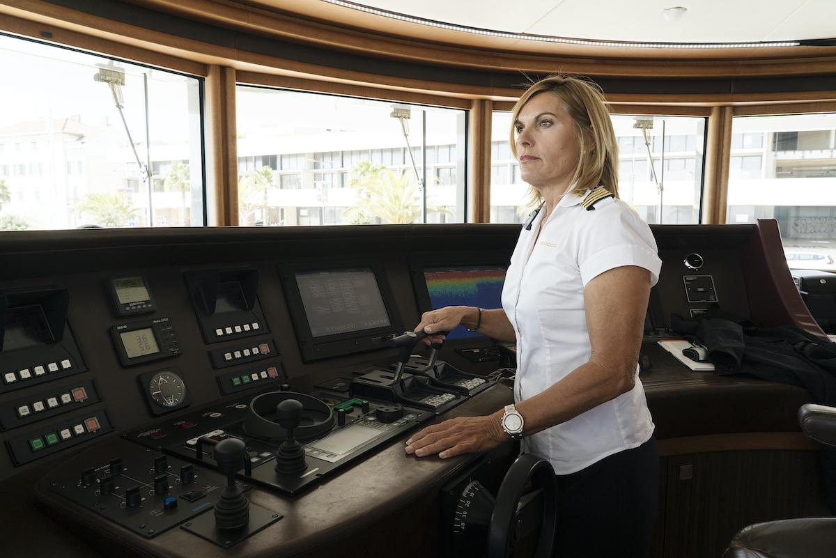 Below Deck Mediterranean Season 2 photo of Captain Sandy Yawn