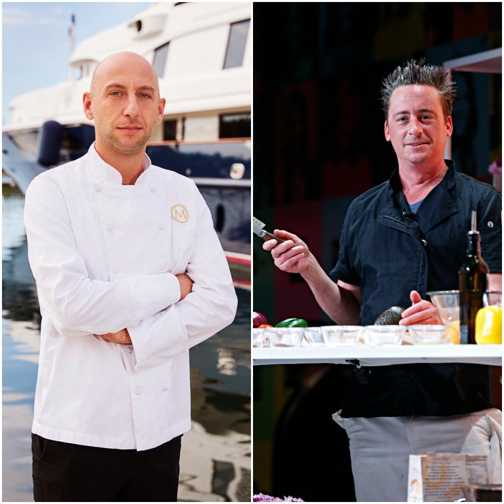 Chef Mathew Shea from Below Deck Mediterranean and Chef Ben Robinson from Below Deck