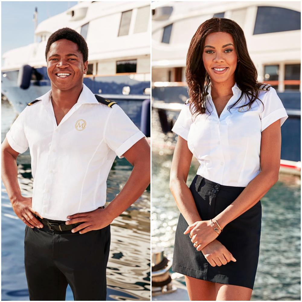 Mzi 'Zee' Dempers and Lexi Wilson from Below Deck Mediterranean cast photos