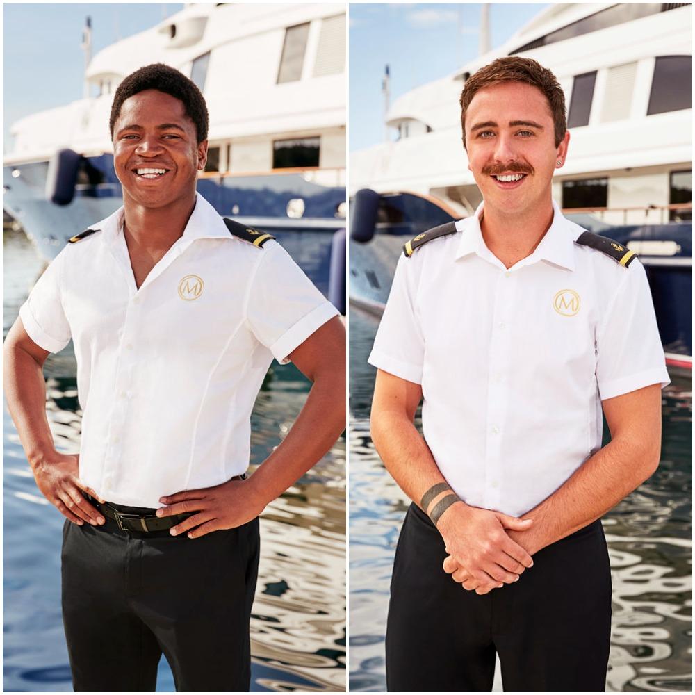 Mzi 'Zee' Dempers and Lloyd Spencer are deckhands on Below Deck Mediterranean Season 6