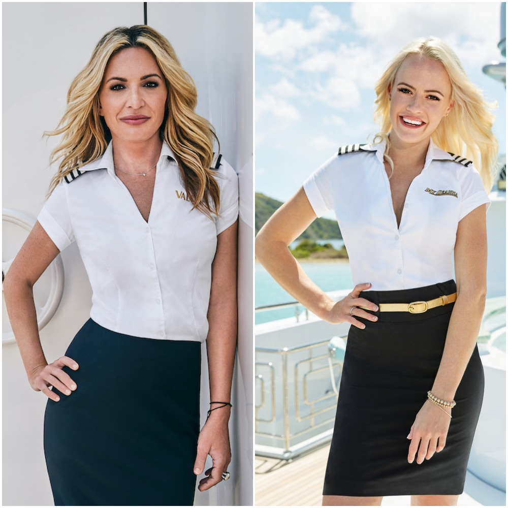 Below Deck chief stews Kate Chastain and Heather Chase