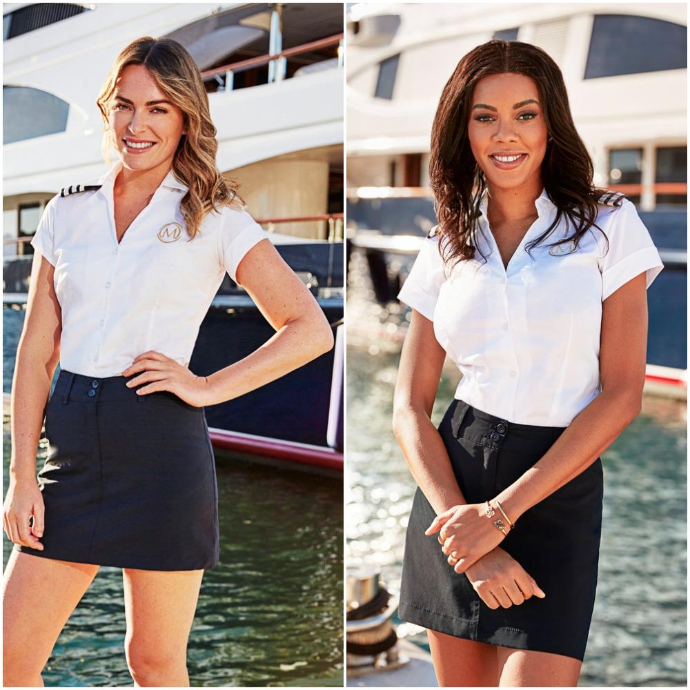 Katie Flood and Lexi Wilson from Below Deck Mediterranean Season 6