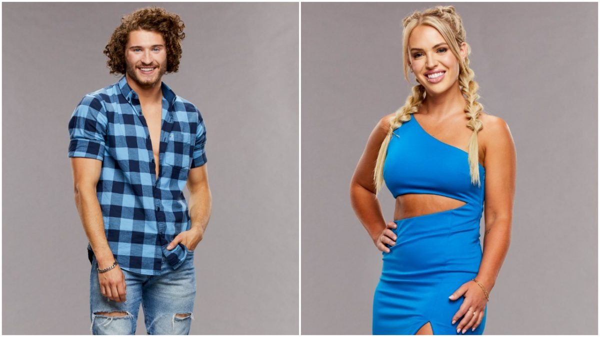 Christian Birkenberger and Whitney Williams on 'Big Brother 23'