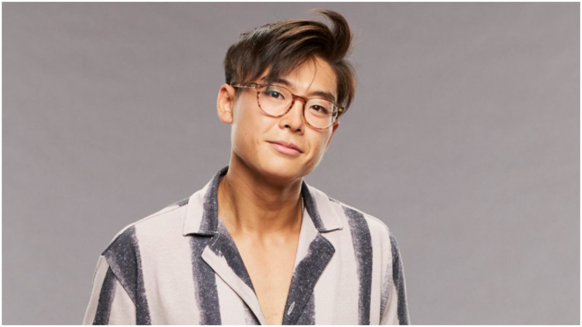 Derek Xiao poses for 'Big Brother 23' cast photo