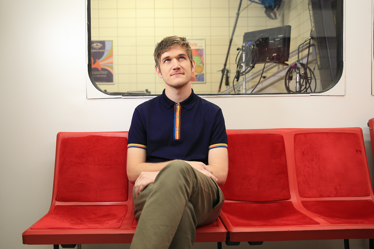 For Peter Howell interview with Bo Burnham, YouTube sensation turned stand-up comedian turned filmmaker, whose new film EIGHTH GRADE, about a young girl's travails in the title school year, has been winning raves since it debuted at Sundance