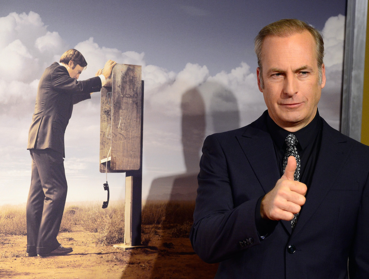 Bob Odenkirk arrives at the 'Better Call Saul' premiere in Los Angeles