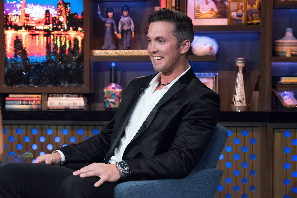 Bobby Giancola from Below Deck Mediterranean and Below Deck Galley Talk on WWHL