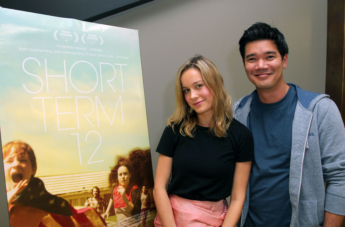 """Actress Brie Larson and director Destin Daniel Cretton attend TheWrap's Awards & Foreign Screening Series """"Short Term 12"""" years before 'Captain Marvel' and 'Shang-Chi and the Ten Rings'"""