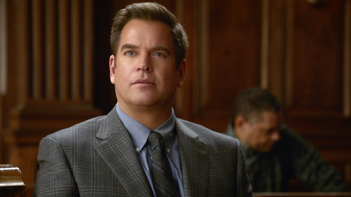 Michael Weatherly as Dr. Jason Bull Image is a screen grab