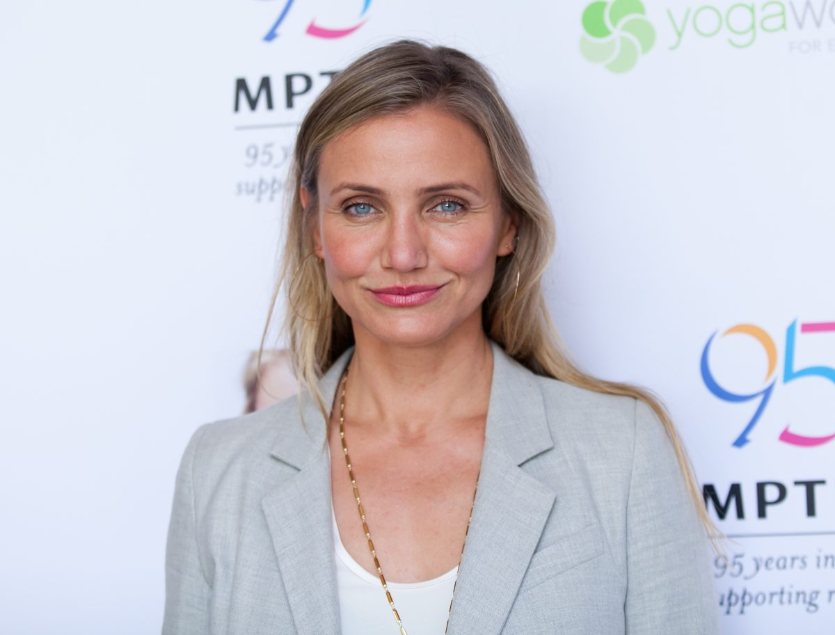 Cameron Diaz on the red carpet.