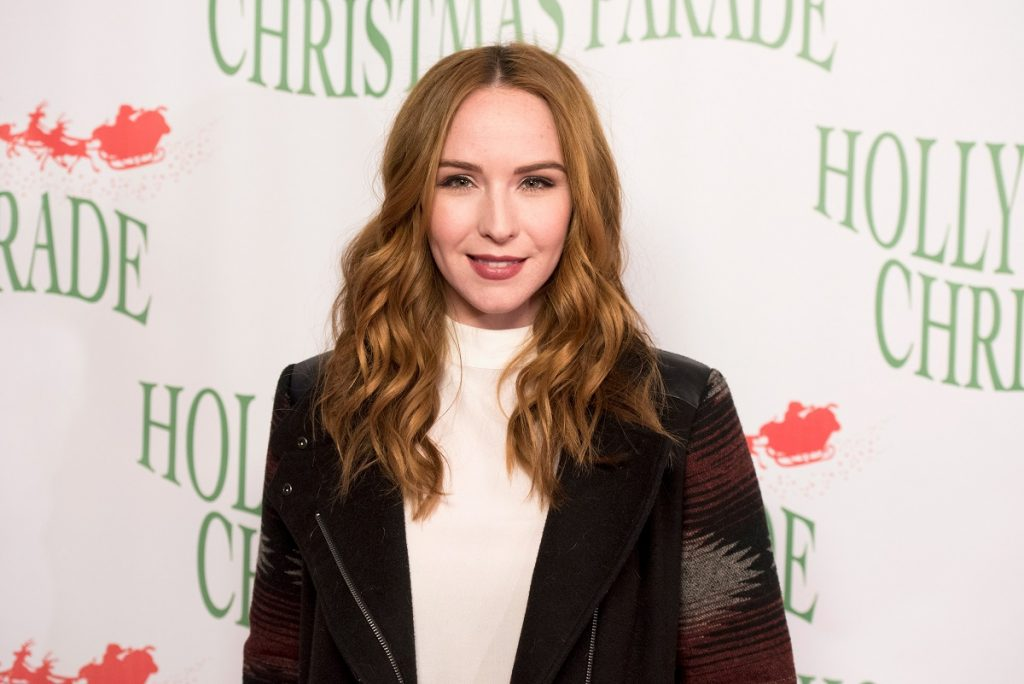 'The Young and the Restless' actor Camryn Grimes at the 2016 Hollywood Christmas Parade in California.