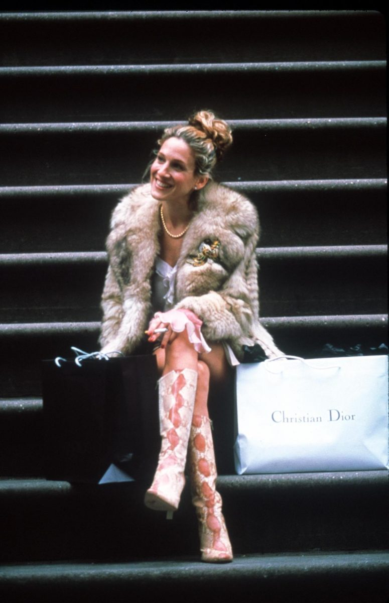 Sarah Jessica Parker acts on the show