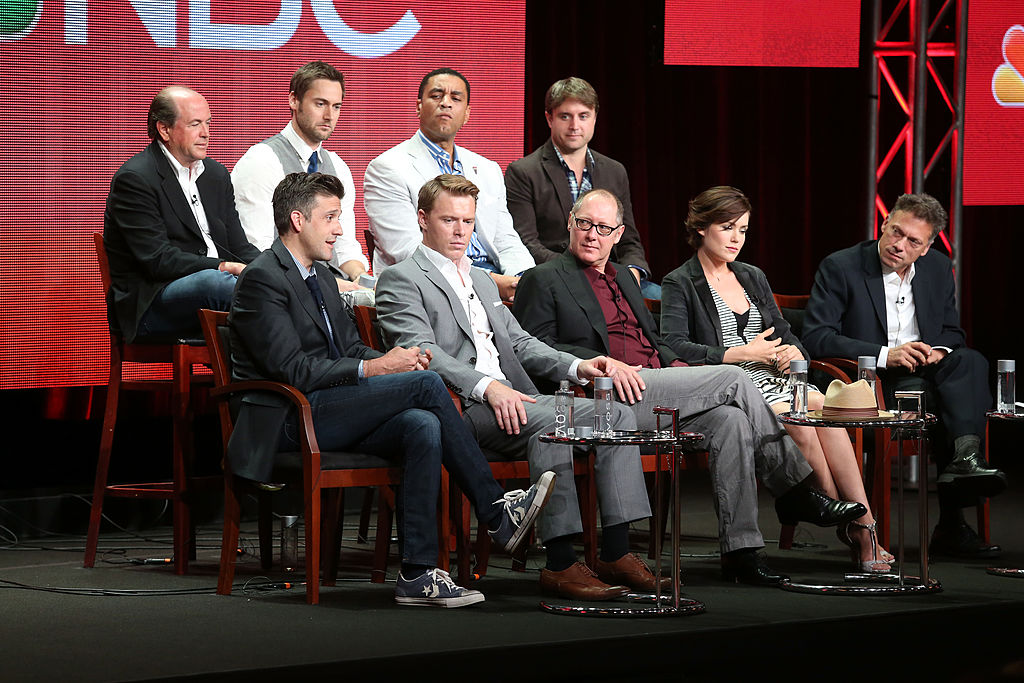 The cast and producers of 'The Blacklist' speak at a panel for the show.
