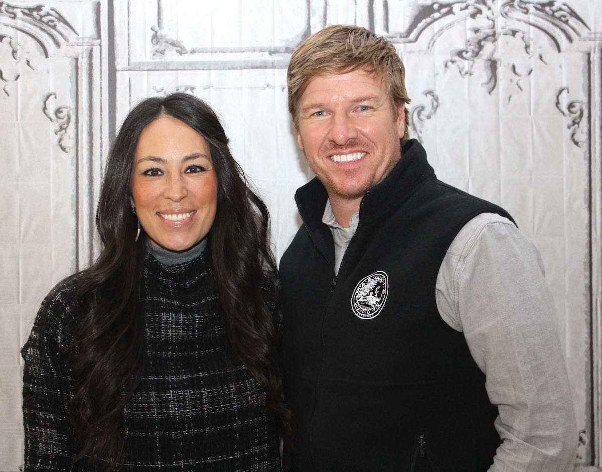Chip and Joanna Gaines attend the AOL Build event