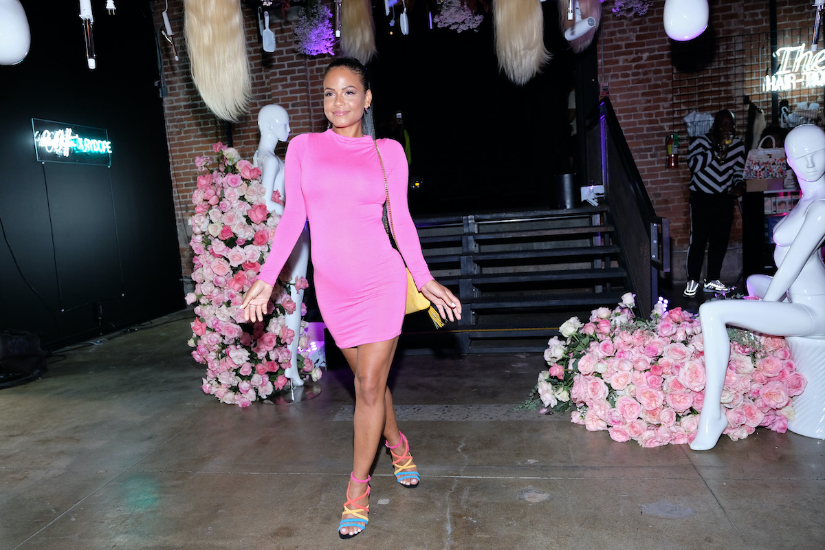 Christina Milian attends The Hair-Tique event in 2019