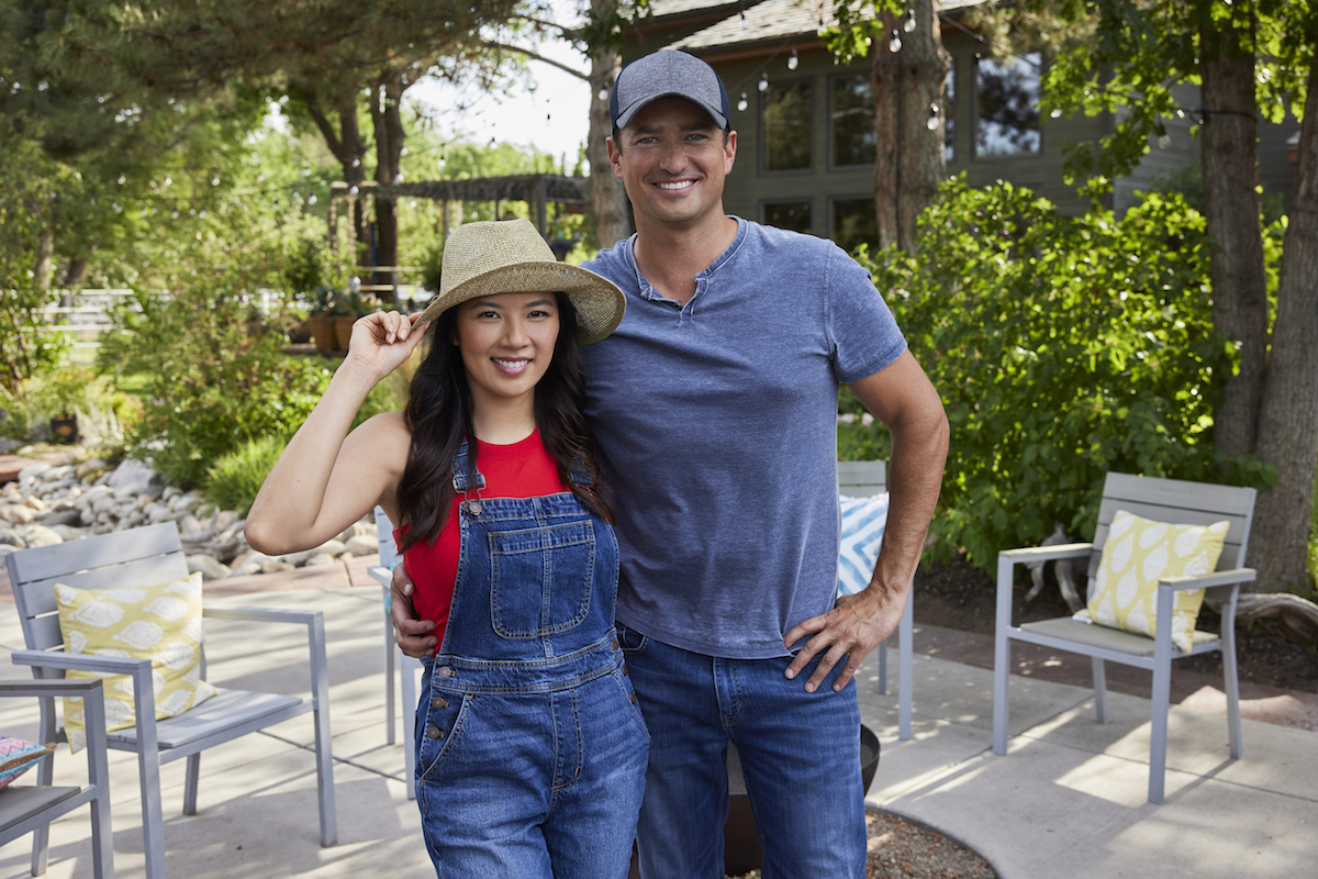 Wes Brown with his arm around Christine Ko in in 'Sweet Pecan Summer'
