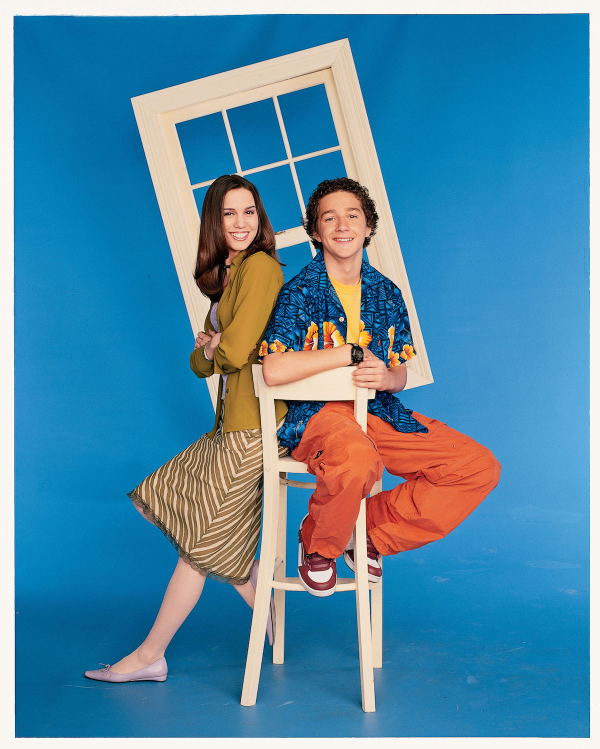 Christy Carlson Romano and Shia LeBeouf in promotional shot