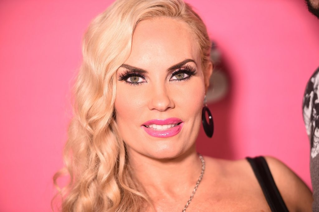 Model Coco Austin wears a black dress at the 2019 Us Weekly Most Stylish New Yorkers event.