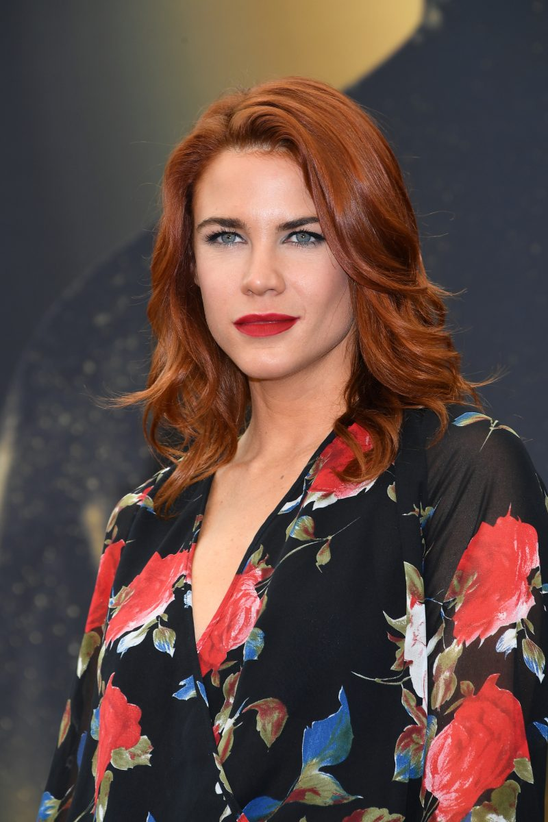 ''The Young and the Restless' star Courtney Hope attends the 2017 Monte Carlo TV festival.