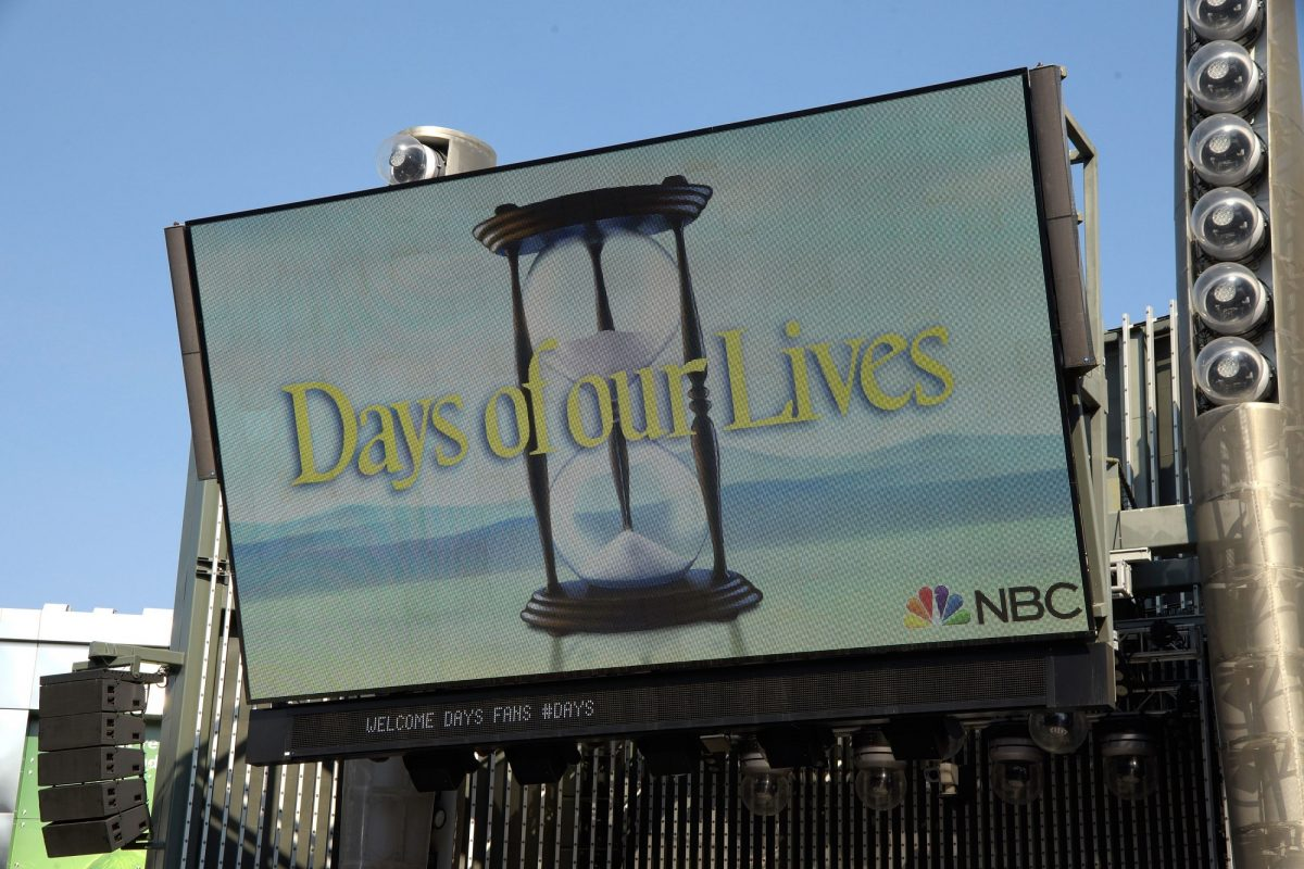 A 'Days of Our Lives' sign