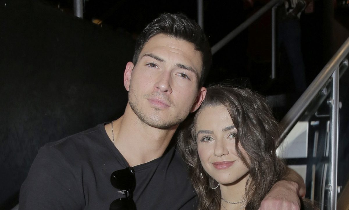 Days of Our Lives spoilers feature Ben and Ciara, played by Robert Scott Wilson and Victoria Konefal, pictured here in casual wear at 'Day of Days'