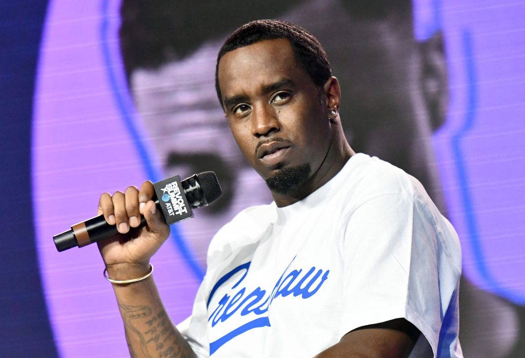 Sean 'Diddy' Combs speaking at REVOLT