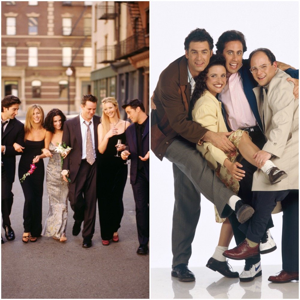 Friends and Seinfeld cast